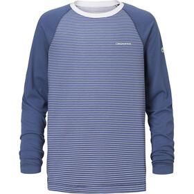 Craghoppers NosiLife Barnaby - Camiseta de manga larga Niños - azul